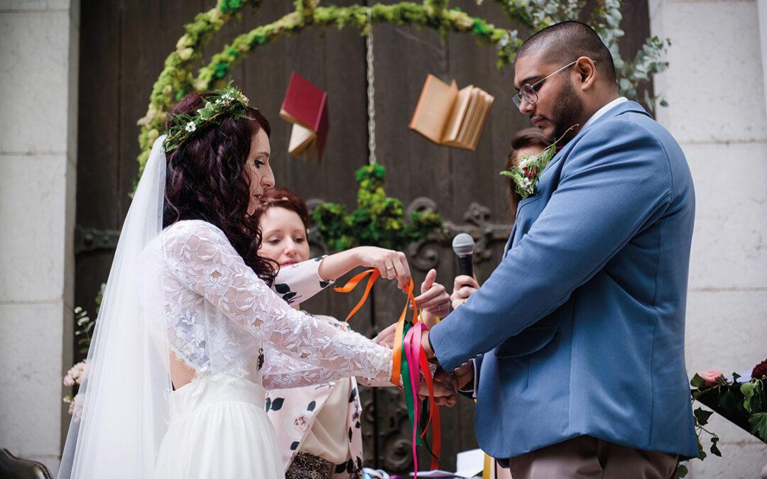 Leslie & Joris : Mariage geek