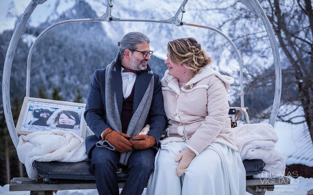 Naïg & Laurent : Mariage en altitude