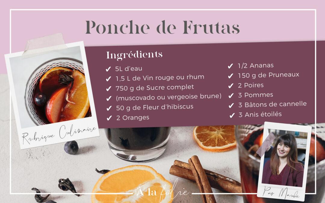 Recette : Punche de frutas